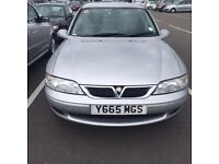 Vauxhall Vectra 1.8 Club 125 16V 5 doors 1 year MOT drives very well