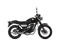 LEXMOTO VALIANT 125cc MOTORCYCLE