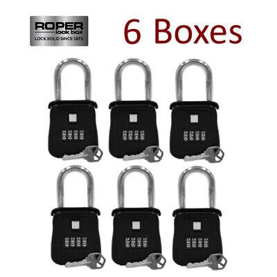 Lot Of 6 Key Lock Box For Realtor Real Estate Reo - Door Hanger
