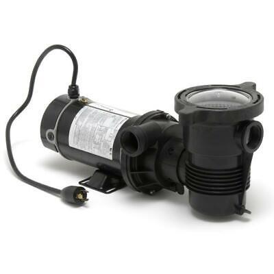 Pentair 347986 OptiFlo Vertical Discharge 1.5 HP Pool Pump w/ 3' Cord