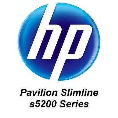 HP Pavilion Slimline s5200 series- system repair (Factory Recovery)