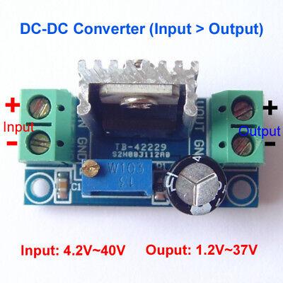 DC-DC Buck Converter 5V 6V 9V 12V 24V Voltage Step Down Module Linear Regulator
