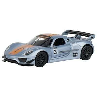 New Genuine Porsche 918 RSR Pull Back Childs Kids Model Car WAP0230250D 1.43