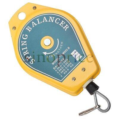Retractable 0.5-1.5kg Spring Balancer Tool For Fixtures Holder Hanging