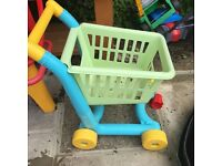 Children's shopping trolley
