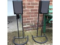 Mordaunt short amplifier/decoder and speakers with stands