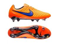 nike magista opus Lthr SG-PRO Uk Size 6.5 New With Box RRP £190 Orange/violet