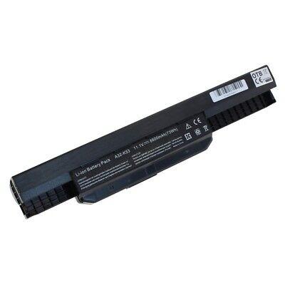 Serie Li Ion Kompatible Akku (Akku kompatibel zu Asus X53 Serie / X54 Serie Li-Ion 6600mAh schwarz 8009545)