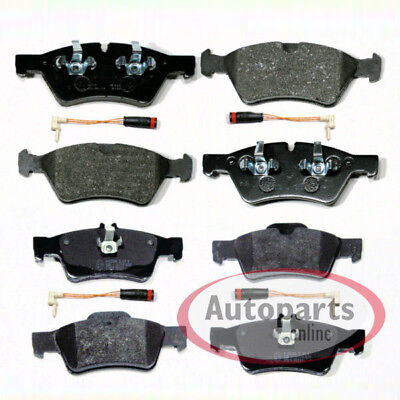 Mercedes R Klasse [W251 V251] - Bremsbeläge Bremsklötze Sensoren vorne hinten