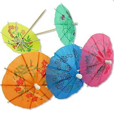 Regenschirmchen Dekopicker im 20er Pack, 10cm, für Eis, Desserts und mehr (Eis-desserts)