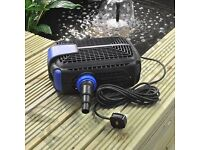 Kingfisher Submersible Pond Water Pump (3500 l/hr) - (Brand New)