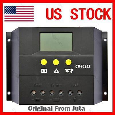 60A Solar Regulator Charge Controller 12V 24V auto 1440W Solar Panel CM6024Z 60A on Rummage