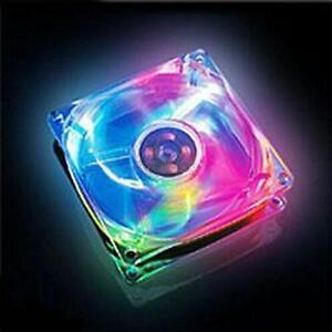 For Sell 80mm Computer/PC Case 4-color Multicolor Fans cooler $