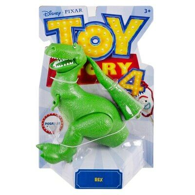 Toy Story 4 REX Dinosaur Posable Figure Collectible 2019 Disney Pixar NEW!