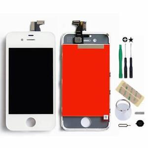 Weiß LCD Display Touchscreen Bildschirm Komplettset Glas für iPhone 4S -Ori.