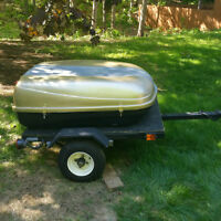 Pull Behind Motorcycle Cargo Trailer