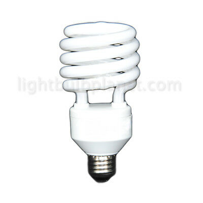 32W CFL Compact Fluorescent Twist Green Lamp (10 Pack)