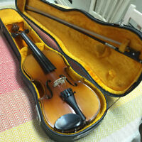 Violin for sale, 1/2 size, Chinese construction, circa 1970 #J10