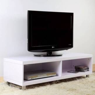 [NEW] Lumiere High Gloss Television Cabinet - White Dandenong Greater Dandenong Preview