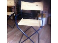 Vintage camping chairs