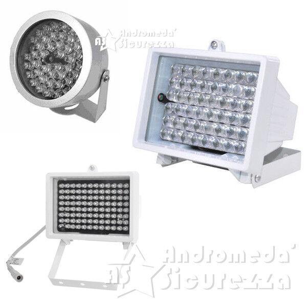 ILLUMINATORE INFRAROSSI TELECAMERA 48 54 96 LED IR DA ESTERNO A LED 12V