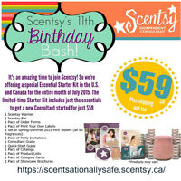 New Scentsy Start Kit for only 59.00