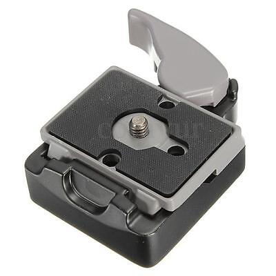 """323Quick Release Clamp Adapter with 200PL-14 QR for Manfrotto Camera Tripod 3/8"""""""