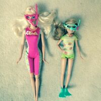 Barbie and Chelsea set