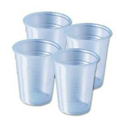 Clear Plastic Disposable Water Cups 7oz (2000)  Glasses, Tumblers, Cheap Cups  - Cheap Disposable Glasses