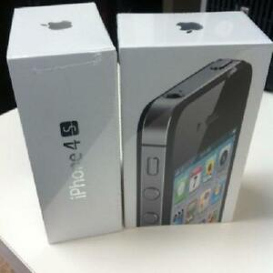New Sealed Box APPLE IPHONE 4S (UNLOCKED) BLACK / WHITE COLOR