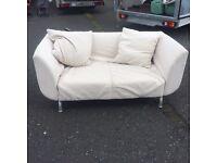 2 seat IKEA sofa removable covers