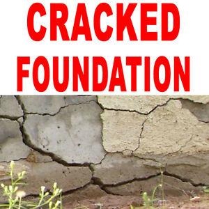CRACKED FOUNDATION REPAIR SERVICES IN PETERBOROUGH, ONTARIO Peterborough Peterborough Area image 1