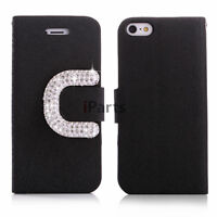Flip Leather Wallet Cover Stand Case for iPhone 4S