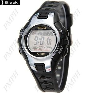 Kids Children Digital Cold-Light Watch with Alarm,Calendar and Stop Watch