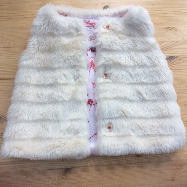 TED BAKER GIRLS GILLET size 12-18 Months (Generous Sizing )