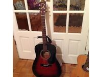Yamaha Acoustic Guitar. Model FG411S VS.