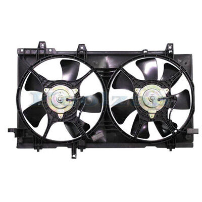 03-08 Forester NON-TURBO Dual Radiator A/C Condenser Cooling Fan Motor Assembly