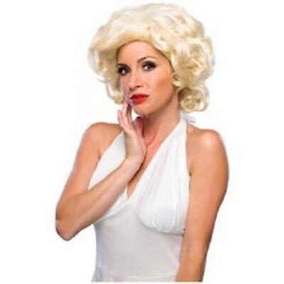 Damen Erwachsene Blonde Hollywood Starlet Kostüm Perücke
