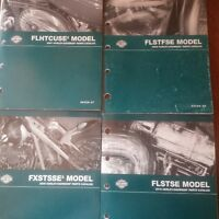 HARLEY FACTORY PARTS MANUALS