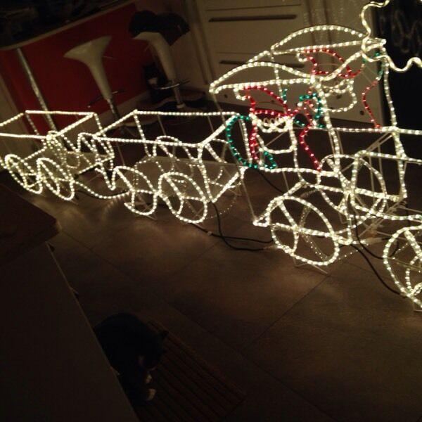Christmas train rope light 3d in gillingham kent gumtree christmas train rope light 3d aloadofball Images