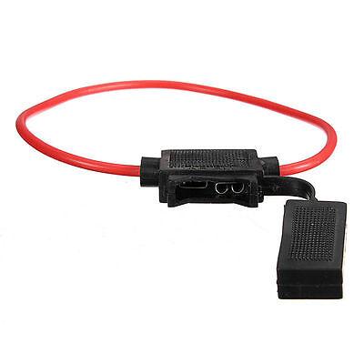1 KFZ-Sicherungshalter Flachsicherung Halter Sicherung für PKW AUTO bis MAX 30A