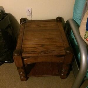 Two Wood Sidetables London Ontario image 2