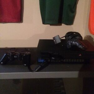 Ps2 with controllers and memory card