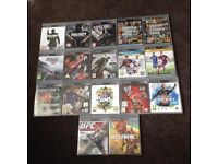 PS3 slim with 17 unbeatable games