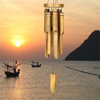 Woodstock Chimes Bamboo Chimes - Natural Ring Bamboo Chime -  C255
