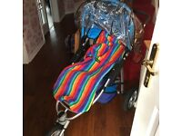 Quinny Speedi Pushchair WITH EXTRAS (travel System)