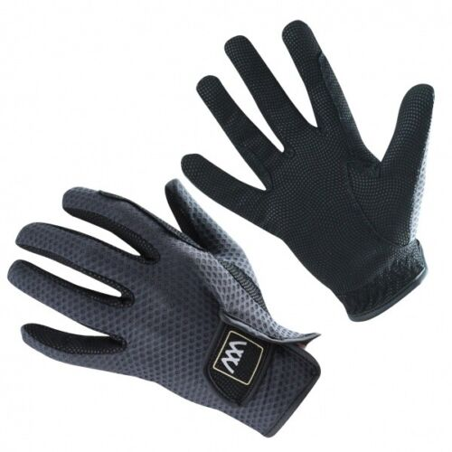 Horse Riding Gloves Woof Wear Event Gloves Black