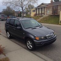 2002 X5 all wheel Drive.Need to go.