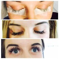 $55 UNLMITED/FULL SET eyelash extension with 4th wk refill