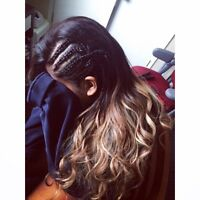 Hairstylist - weaves, braids, cornrows and more !